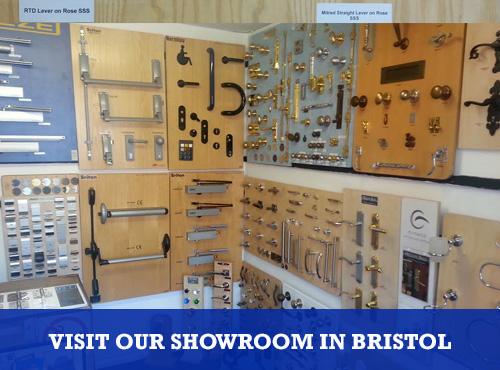 Visit our Architectural Ironmongery Showroom in Bristol
