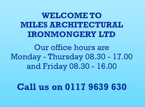 Welcome to Miles Ironmongery Ltd - Meet the Team